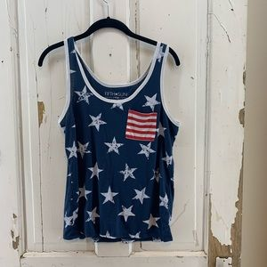 American Flag Stars and Stripes Tank